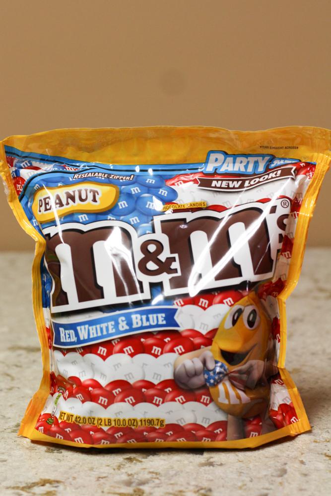 Peanut M&M's Red, White & Blue 2 lb  Stoltzfus Family Market-$7.05 Walmart-$8.98