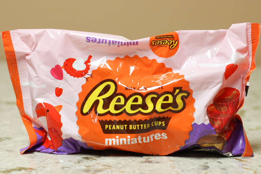 Reese's Peanut Butter Cups Miniatures  Stoltzfus Family Market-$2.45 Walmart-$3.24