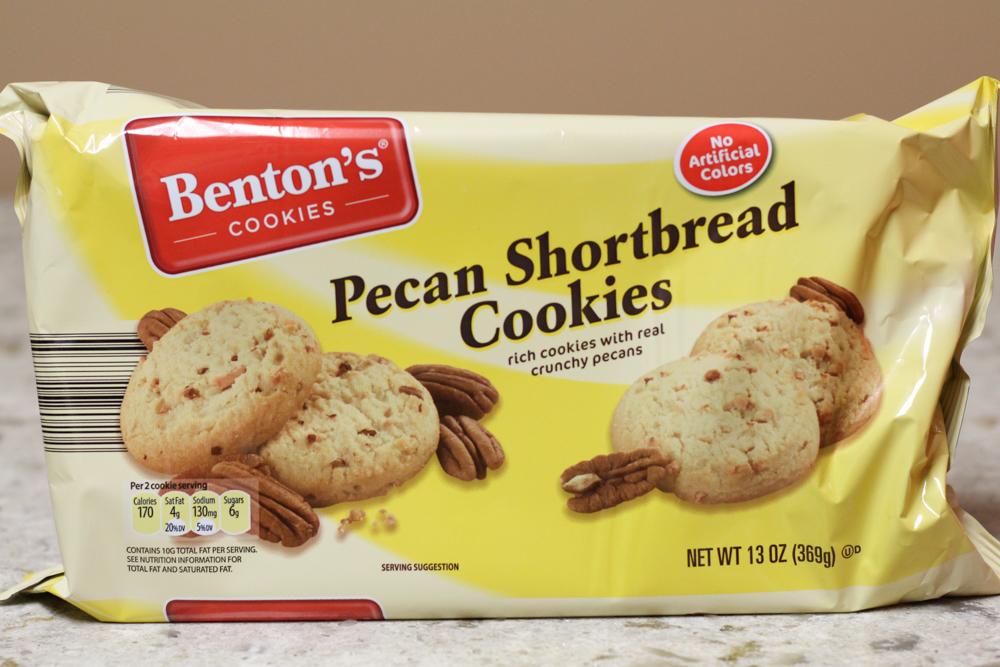 BENTON'S PECAN SHORTBREAD COOKIES 13 oz