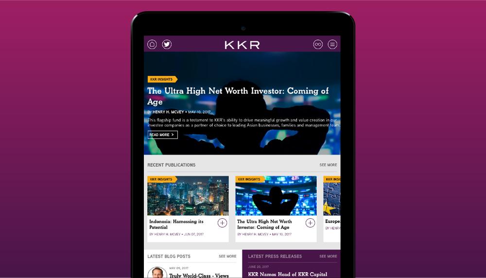 KKR Insights App