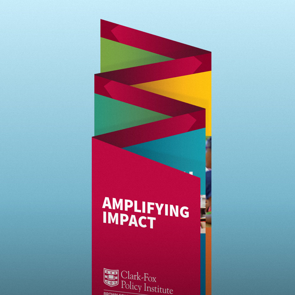 "Clark-Fox Policy Institute ""Amplifying Impact"" – Launch event brochure"