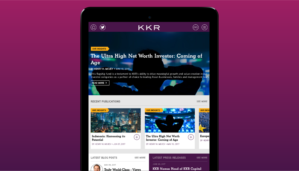 KKR Insights App