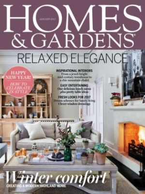 Homes & Gardens Jan 2017
