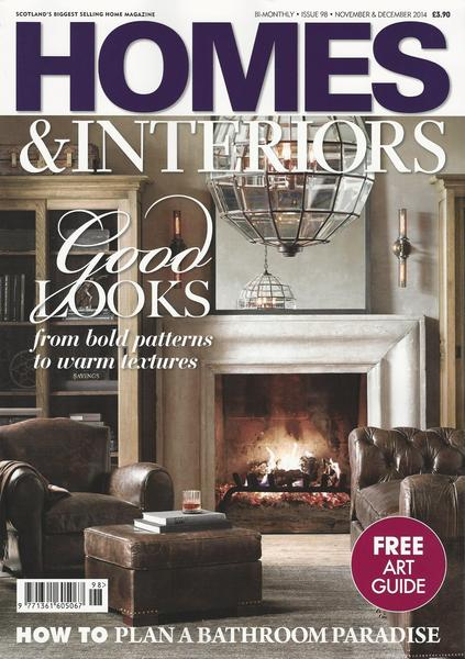Homes & Interiors Scotland Dec 2014