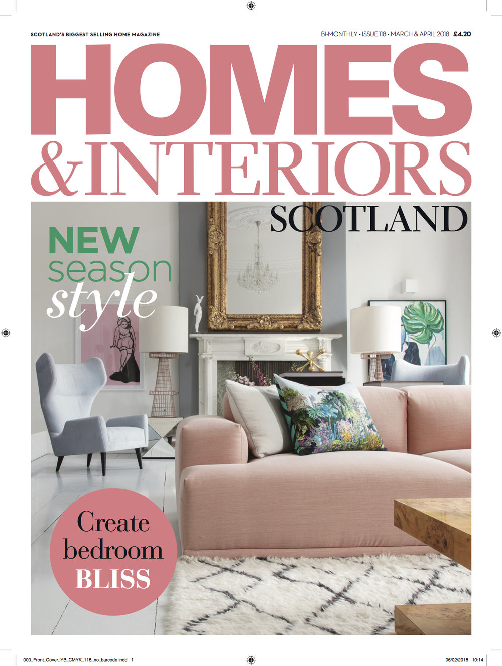 Homes & Interiors Scotland March April 2018
