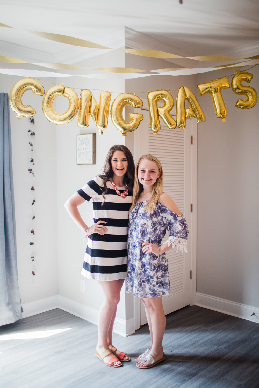 Jessica's former roomies, Kristen!
