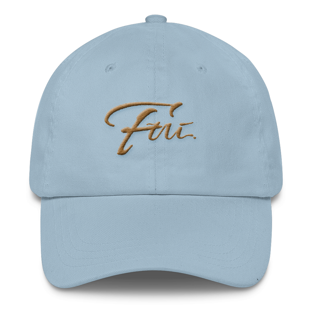 458ee5fa6 FUI CLASSIC DAD HAT- GOLD & BABY BLUE
