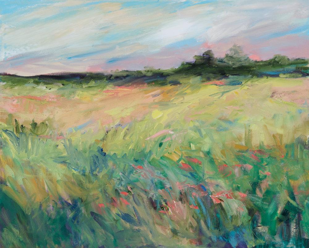"""""""Blush of Spring"""" - 16 x 20 inch"""