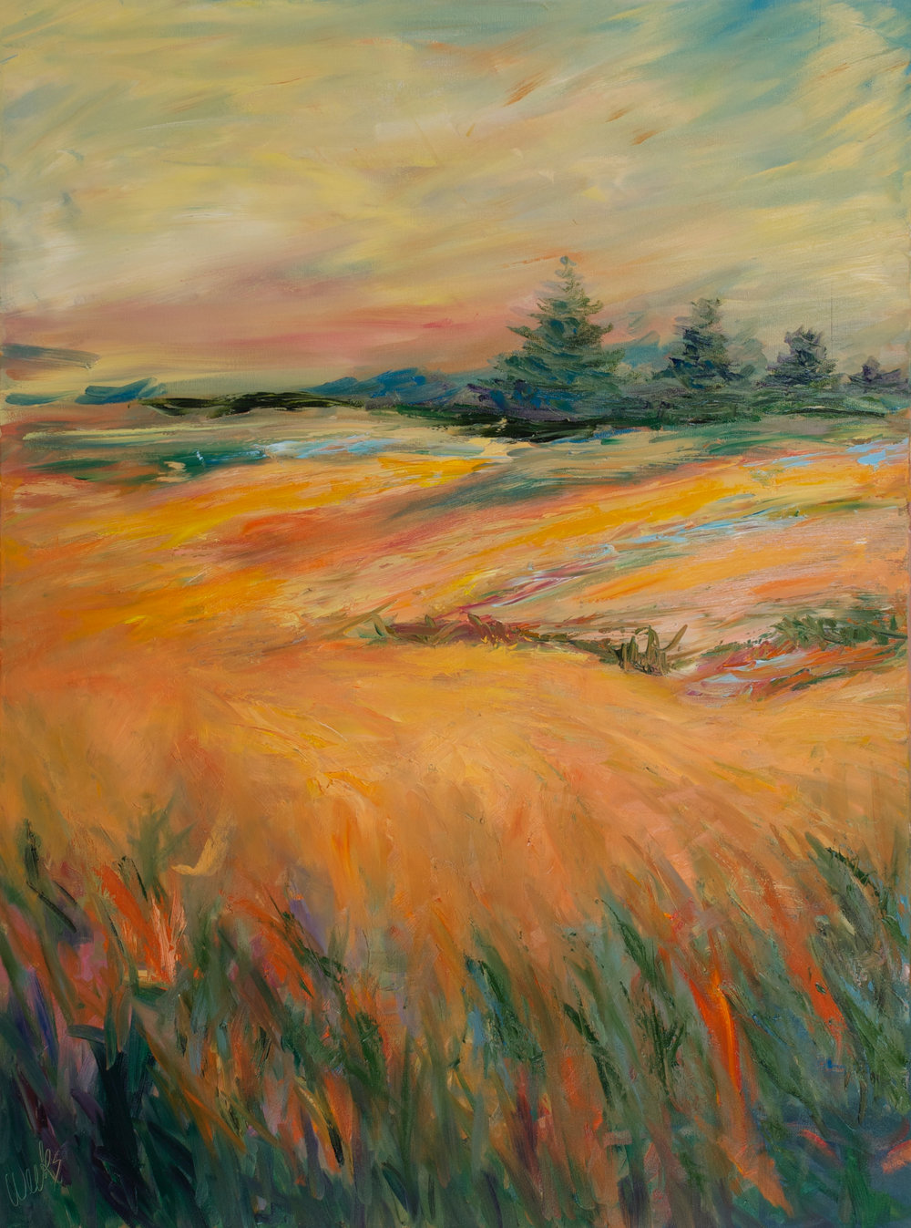 """""""Country Comfort"""" - 40 x 30 inch"""