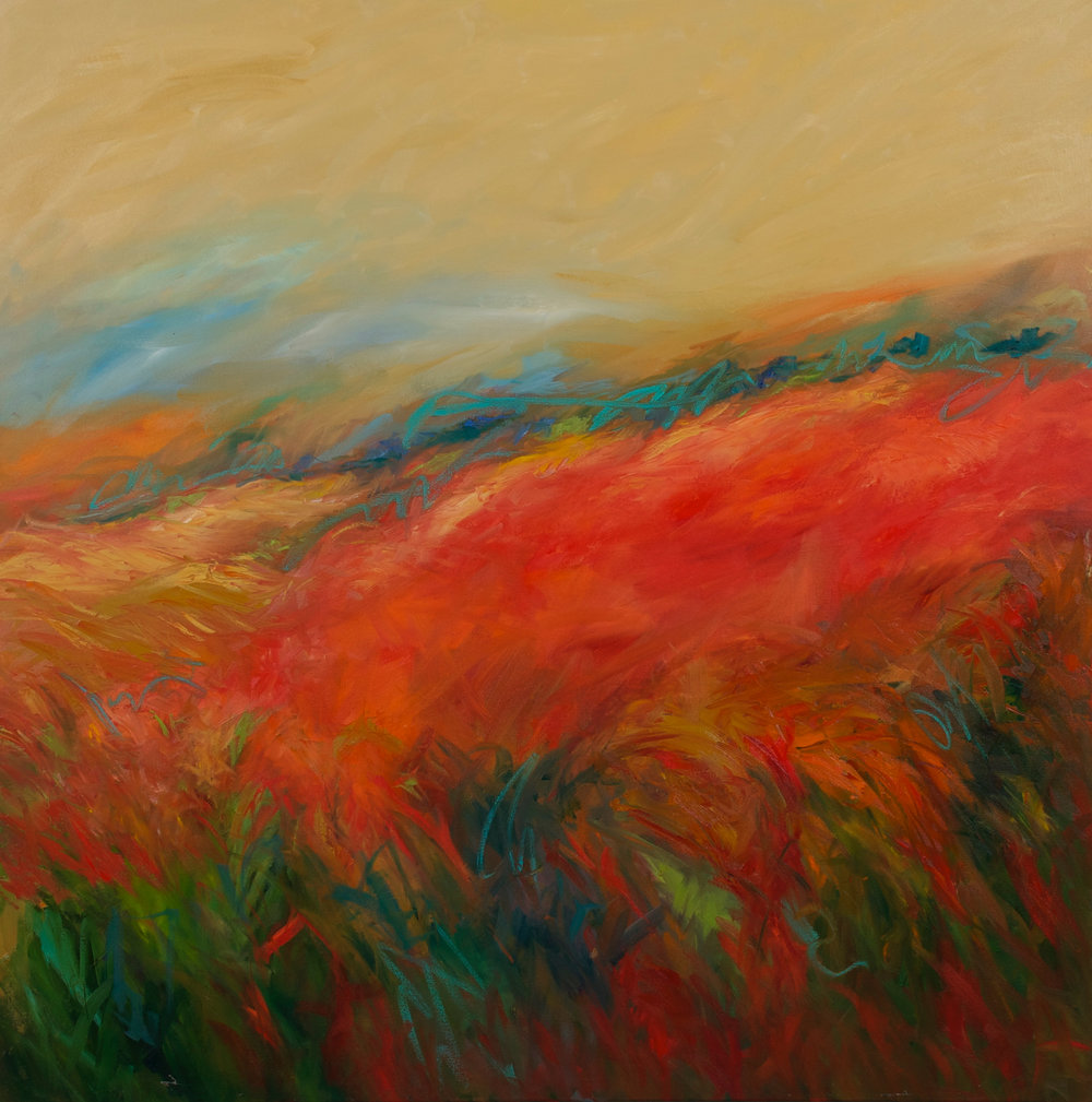 """""""Love of the Land"""" - 48 x 48 inch"""