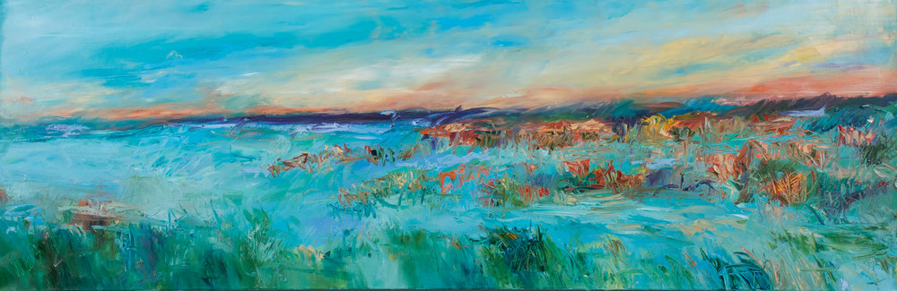 """""""Oh, to be in Carolina"""" - 20 x 60 inch"""