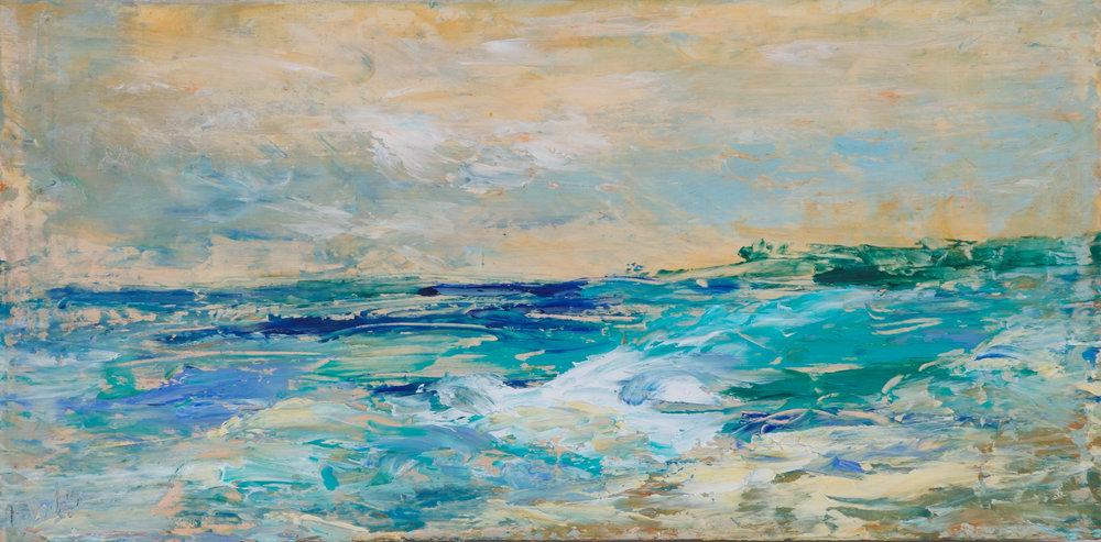 """""""Seaside"""" - 8 x 16 inch"""