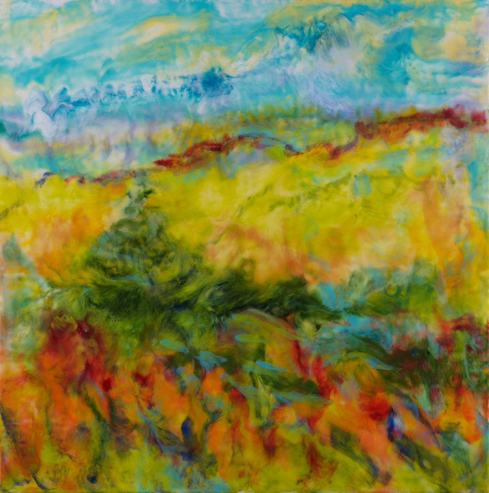 """""""Nature's Garden"""" - 30 x 30 inch"""