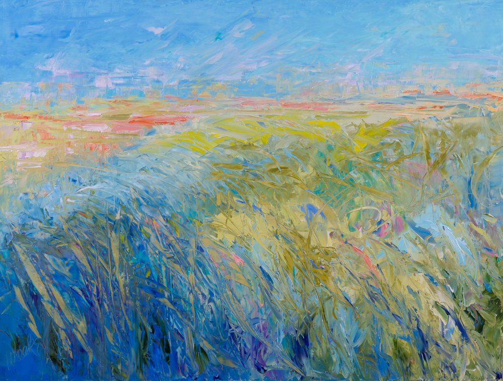 """""""Blowing in the Wind"""" 24 x 32 inch"""