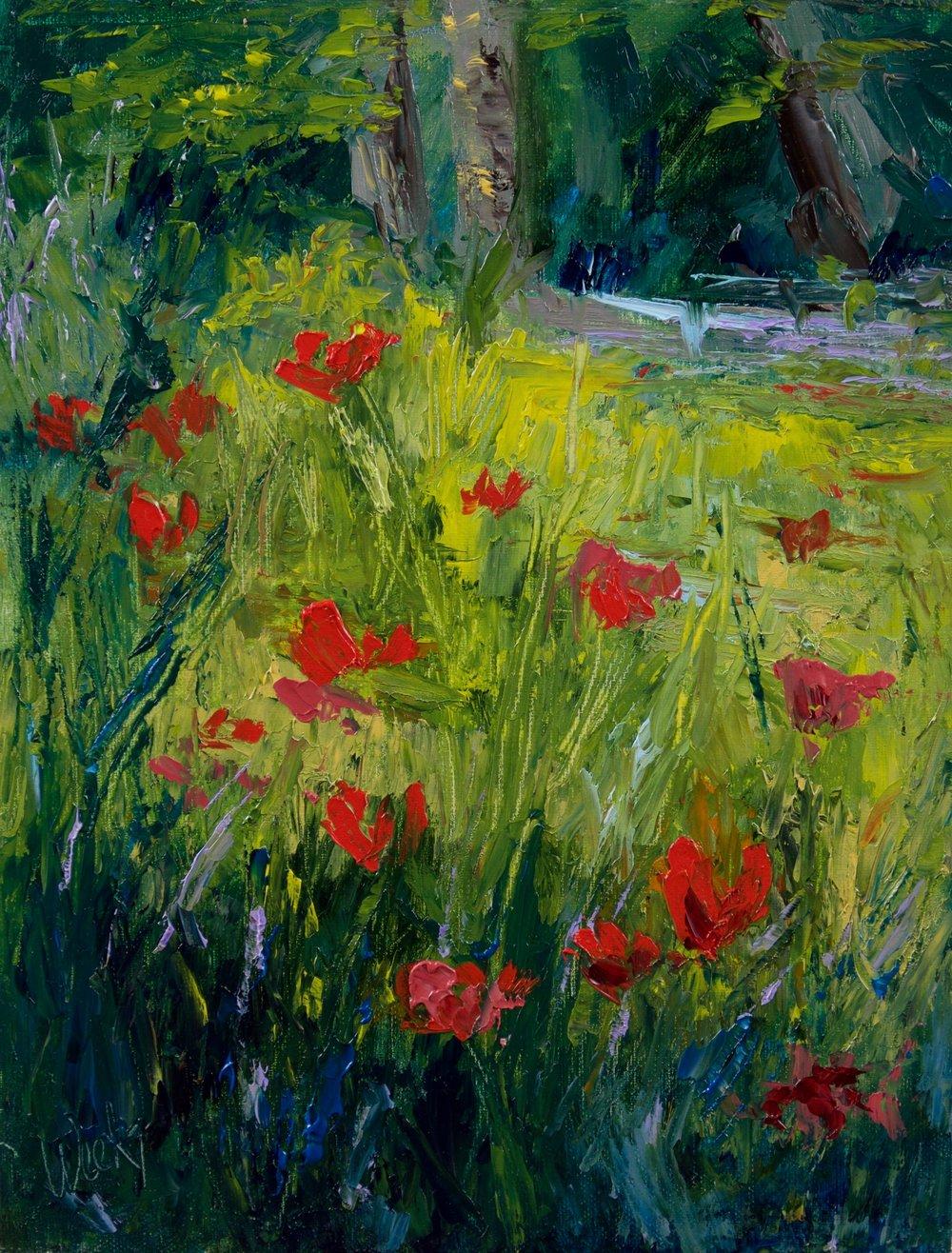 """Woodland Beauty"" - 12 x 9 inch"