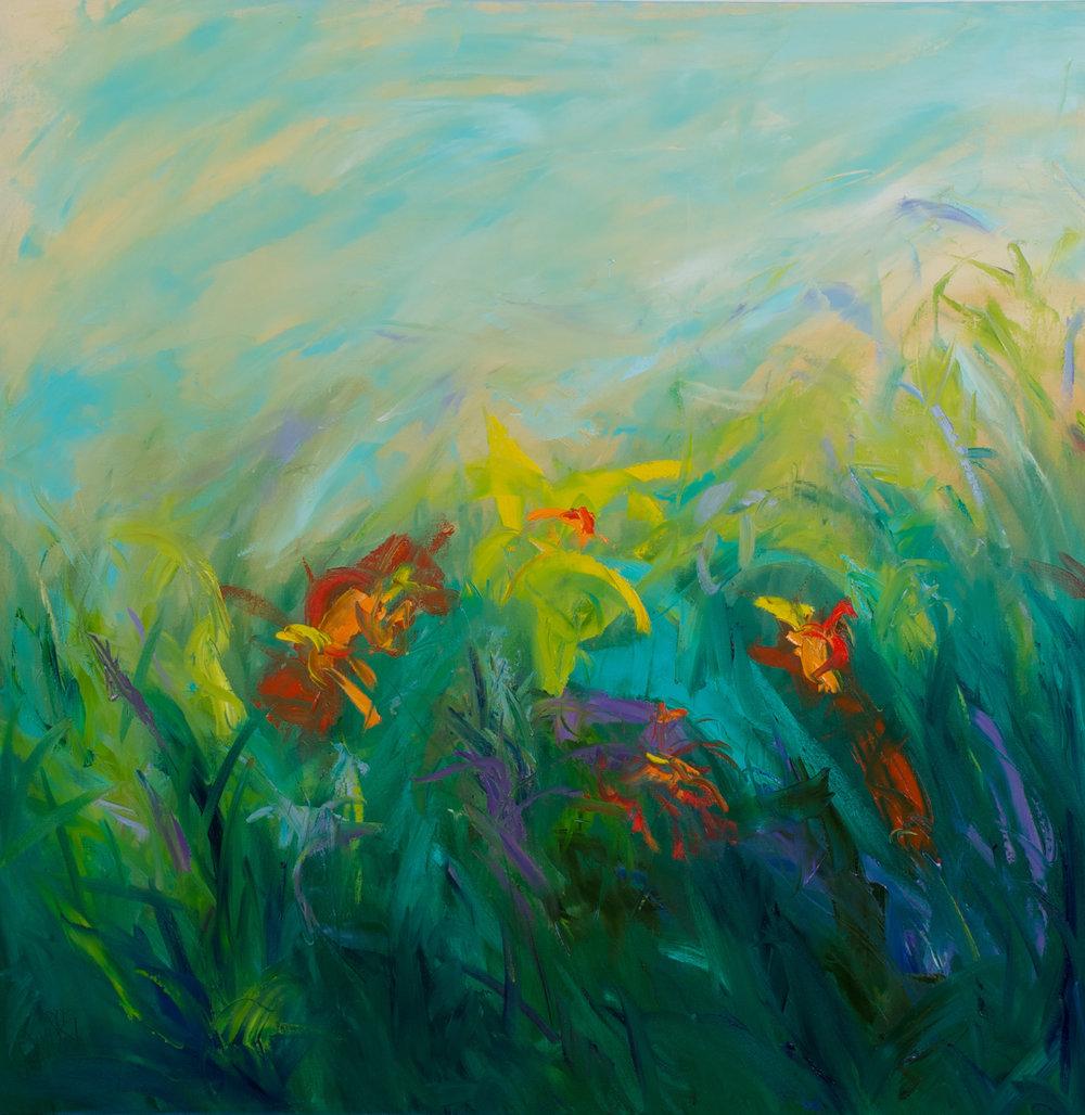 Wildflowers - 36 x 36 inch