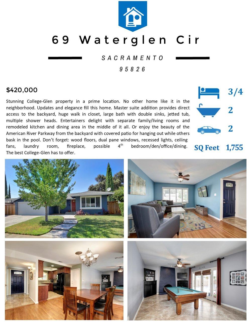 Flyer Front - 69 Waterglen Cir Sacramento CA 95826.jpg