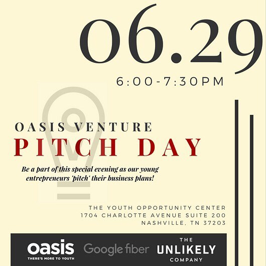 CEO & COO Greg August and Malik Hall will be pitching June 29 @ovnashville come out and support your favorite young entrepreneurs ☕️💚🎓