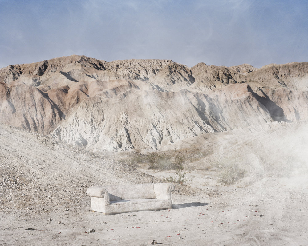 Shooting Range, Death Valley, California