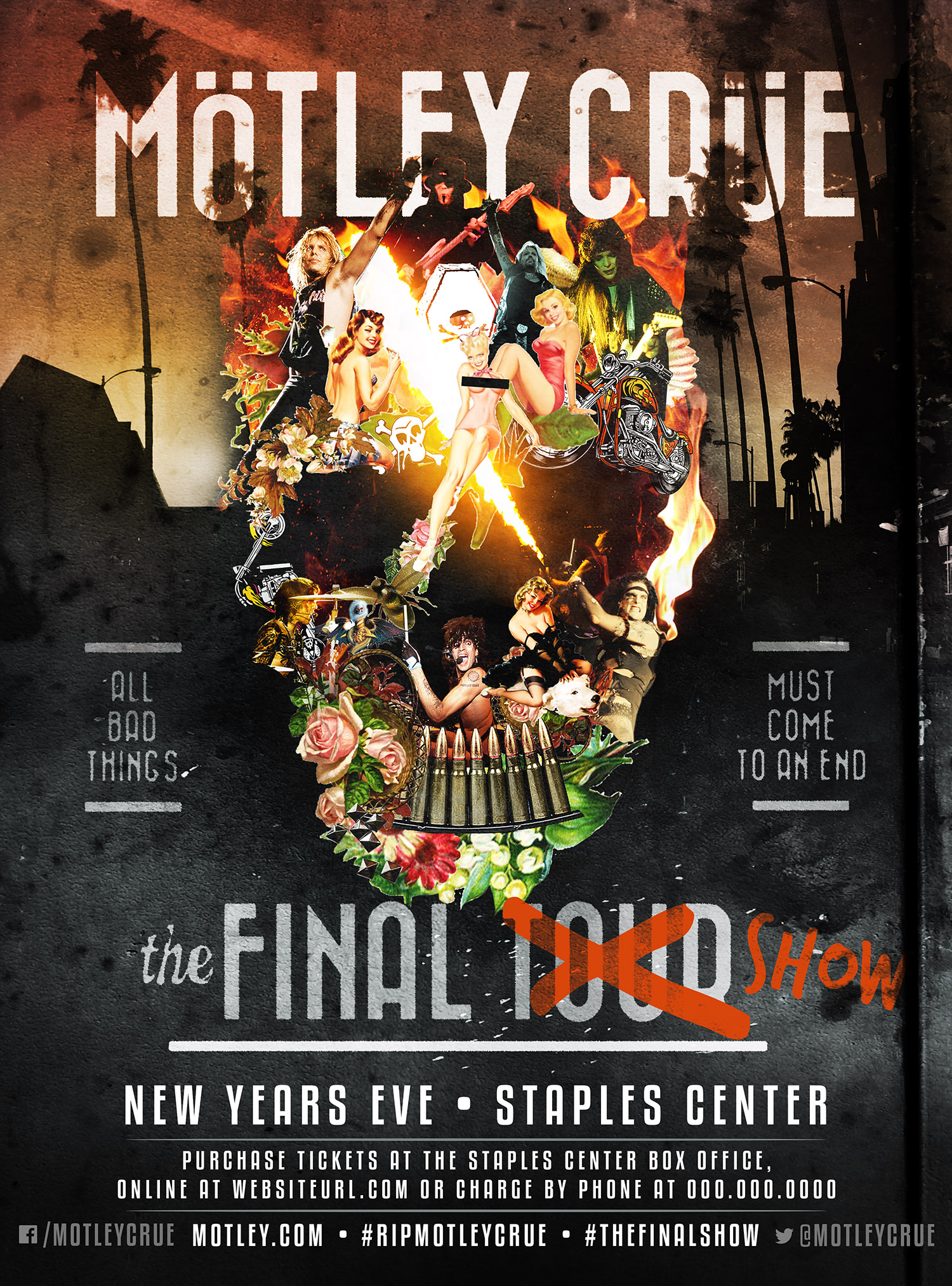 Motley Crue Reveals Date Of Final Show New Song Video Mötley Crüe