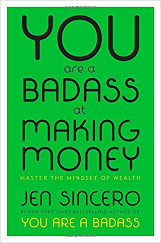Janurary - You Are a Badass At Making Money by Jen Sincero - You Are a Badass at Making Money will launch you past the fears and stumbling blocks that have kept financial success beyond your reach. Drawing on her own transformation—over just a few years—from a woman living in a converted garage with tumbleweeds blowing through her bank account to a woman who travels the world in style, Jen Sincero channels the inimitable sass and practicality that made You Are a Badass an indomitable bestseller. She combines hilarious personal essays with bite-size, aha concepts that unlock earning potential and get real results. Learn to:   • Uncover what's holding you back from making money   • Give your doubts, fears, and excuses the heave-ho   • Relate to money in a new (and lucrative) way   • Shake up the cocktail of creation    • Tap into your natural ability to grow rich   • Shape your reality—stop playing victim to circumstance   • Get as wealthy as you wanna be