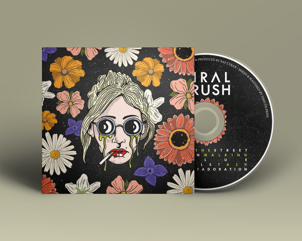 Viral Crush Album Mock Up