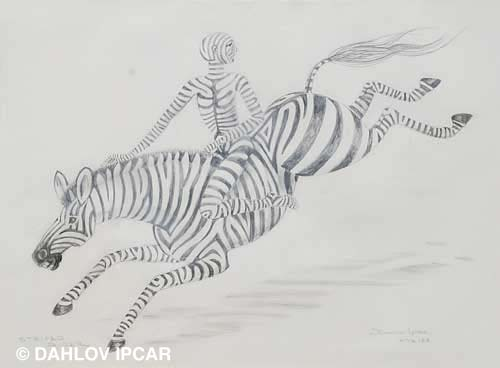 Striped Rider
