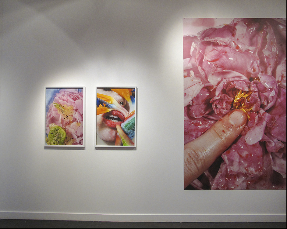 peonie (left), mouth (middle), finger (right)