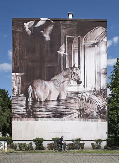 Mural for Urban Nation Museum (One Wall Project) - Berlin,2017
