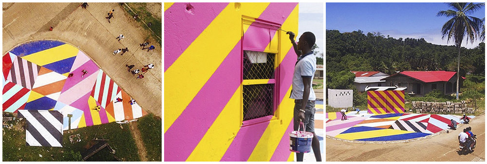 Maser for 'The Liberia Project' with Aparial Arts - Robertsport, Liberia (2016)