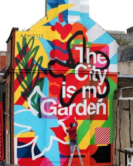 'The City is my Garden' - Dublin, Ireland (2017)