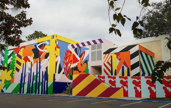 Maser for 352walls/Gainesville Urban Art Initiative - Gainesville, Florida (2017)