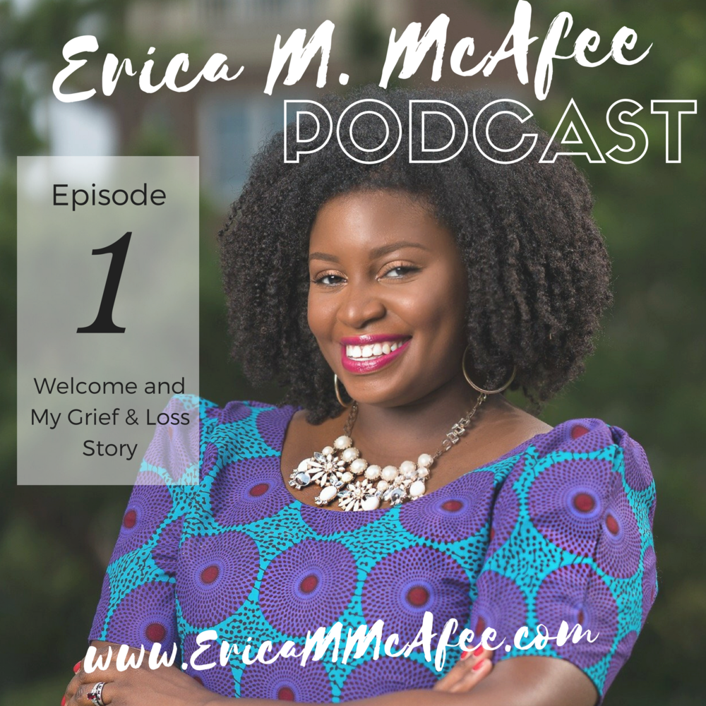 Erica M. McAfee Podcast is now LIVE! - We are now streaming on Apple Podcast iTunes, Stitcher, Soundcloud, and Google Play.