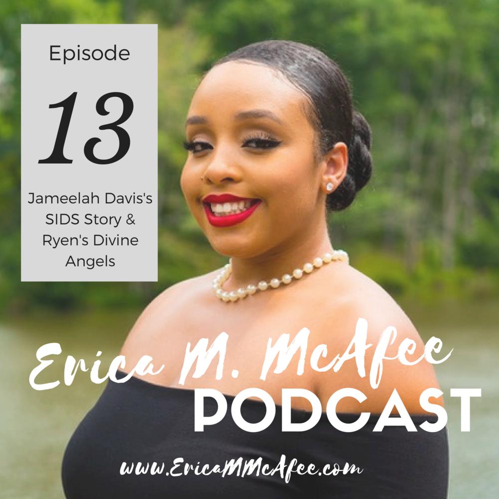 Jameelah Davis Podcast Banner