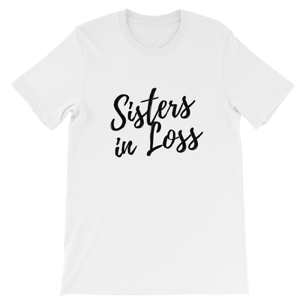 Sisters in Loss Logo T-shirt