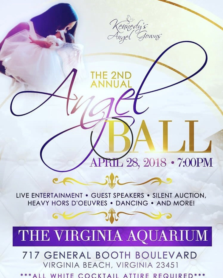Join me this Saturday, April 28 if you are in VA @kennedysangelgowns is hosting their 2nd Annual Angel Ball. Tickets are still available for this event.Go to  kennedysangelgowns.com