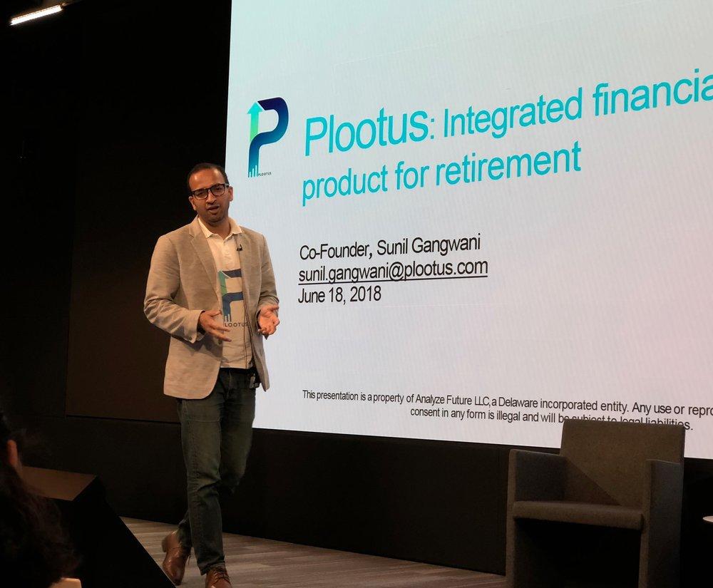 Sunil Gangwani speaking about Plootus