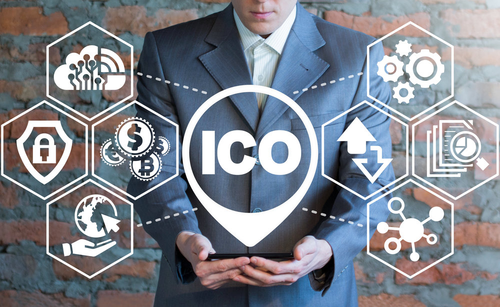 """ICO Digital Electronic Trade Market Stock Index Concept."" Source: © wladimir1804, Adobe Stock - FILE #:    174855532"