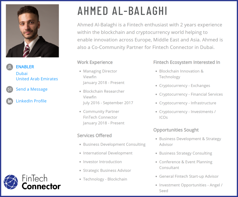 Connect with Ahmed Al-Balaghi   - Creator of Encrypted