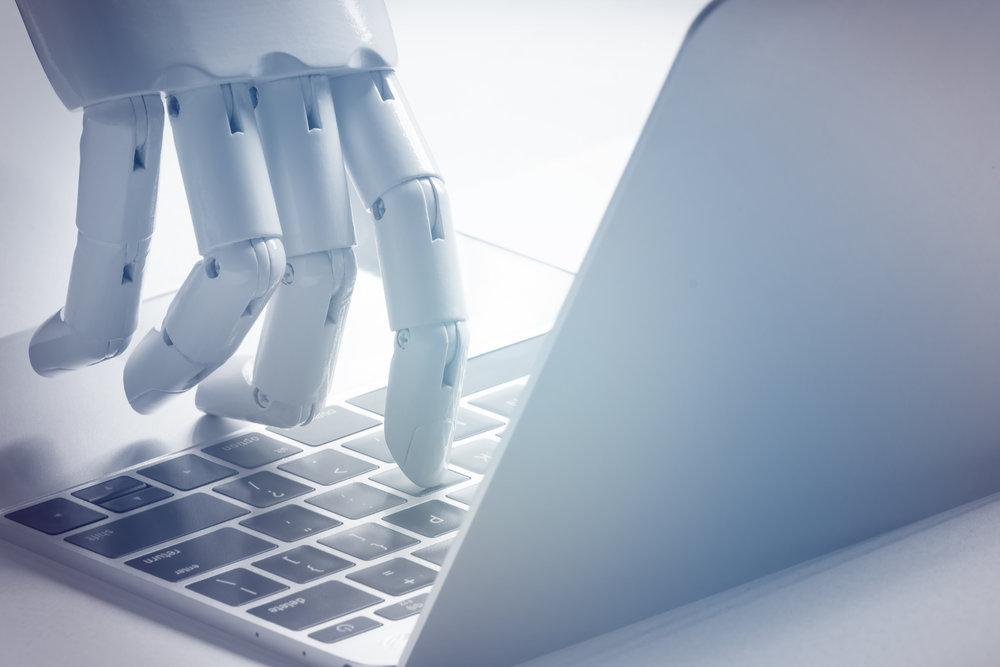 Chat bot , artificial intelligence , robo advisor , robotic concept. Source: ©zapp2photo, Adobe Stock -  FILE #:   161459463
