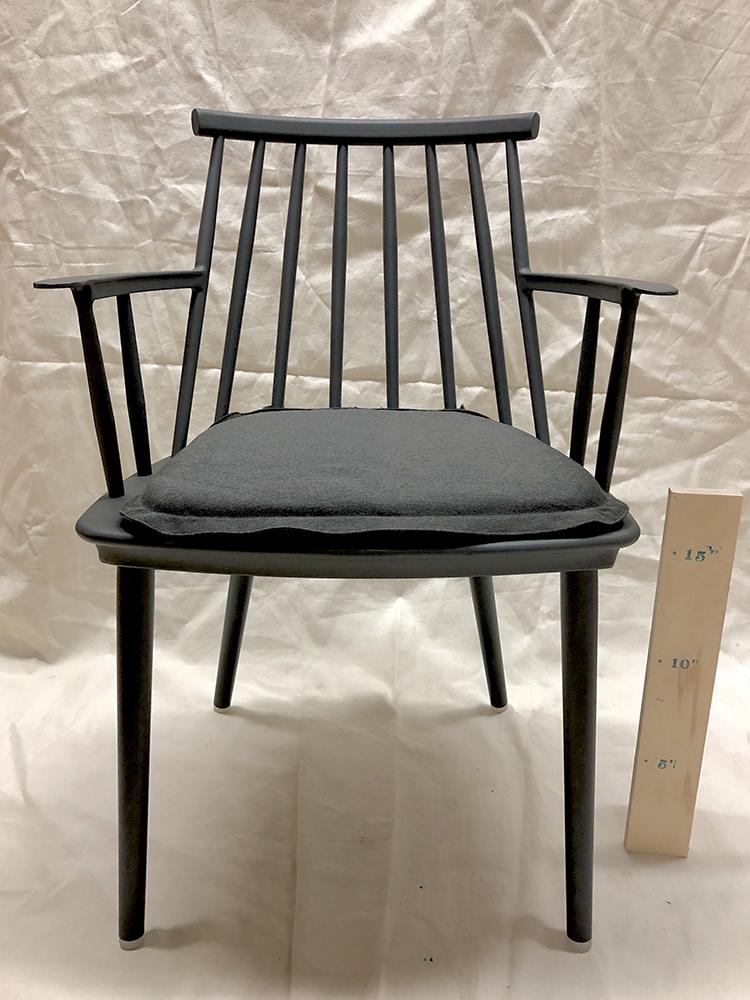 Spindle Armchair (w/ cushion) - $30