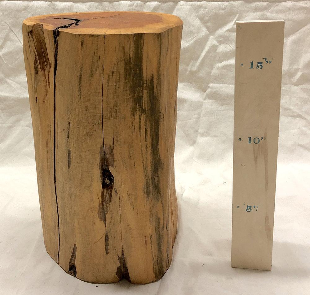 Log Stool - $45
