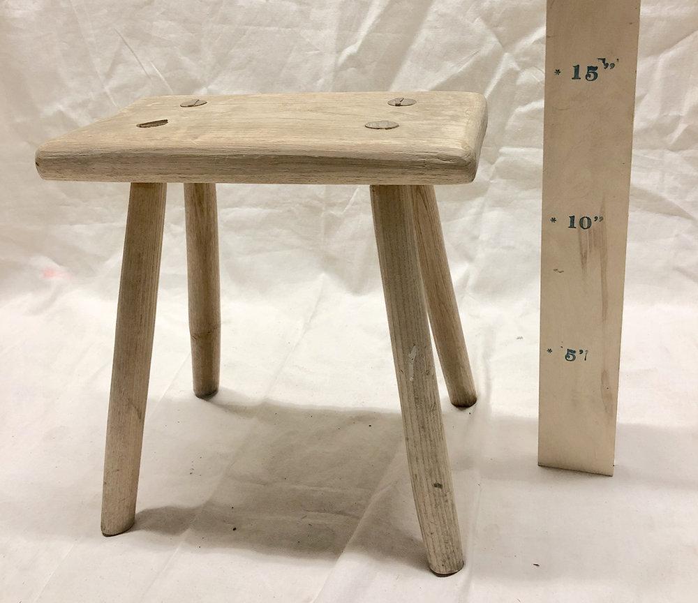Natural Footstool - $35