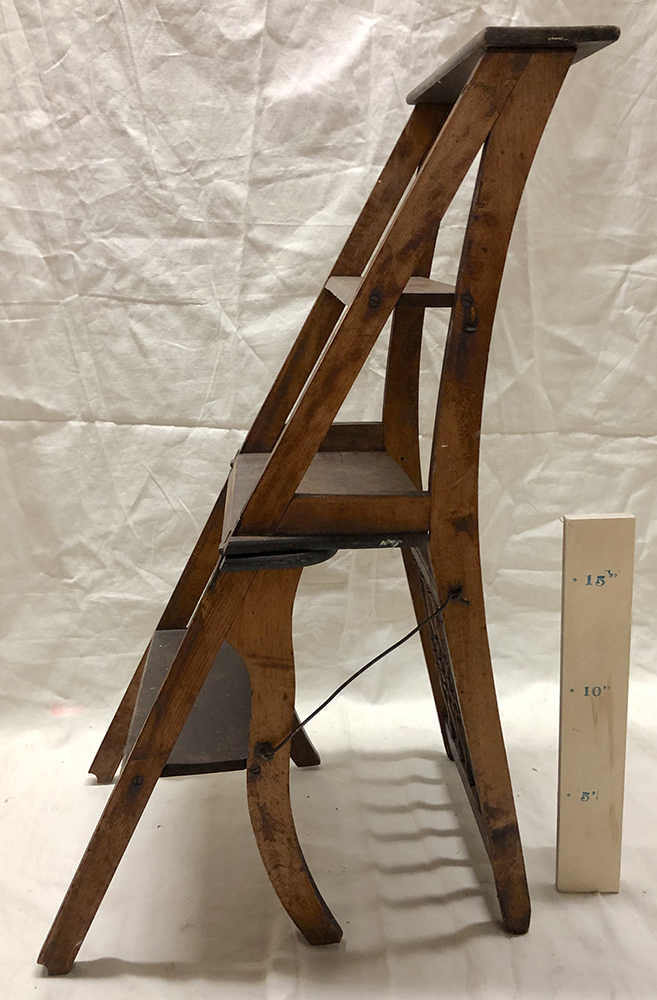Ladder Chair (side view) - $20
