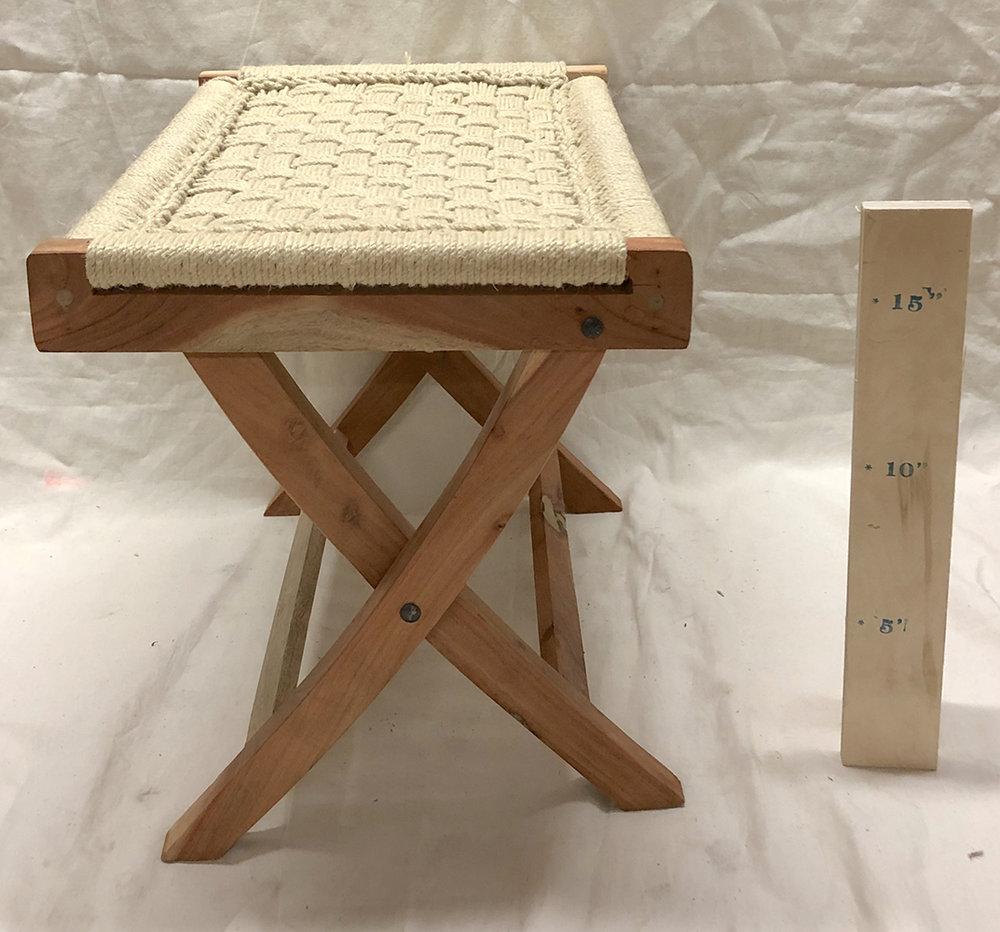 String Folding Bench - $50