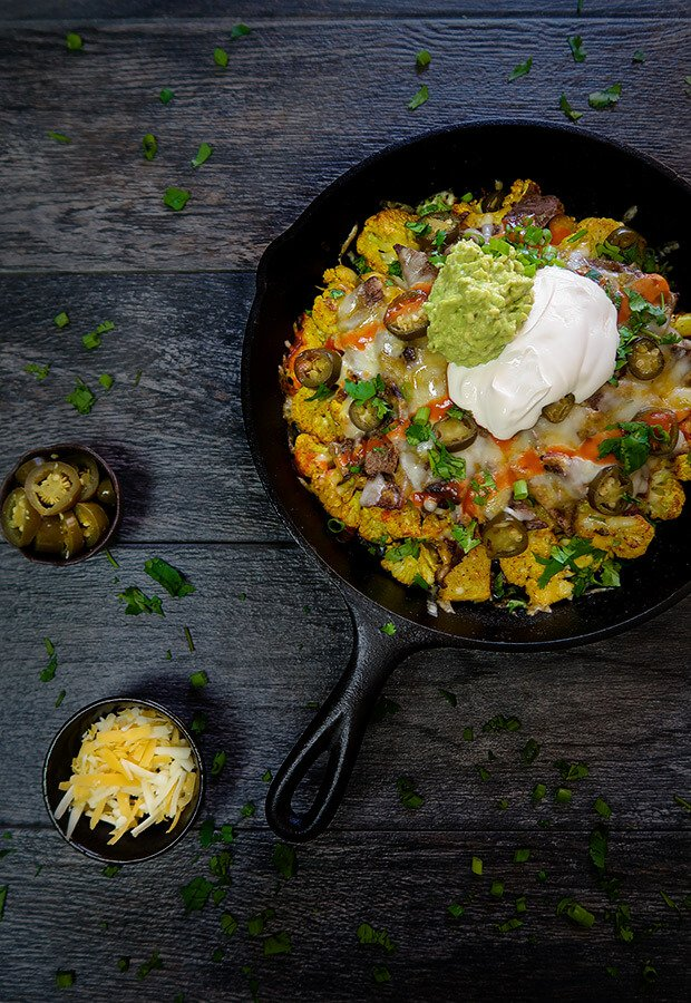 nacho steak skillet