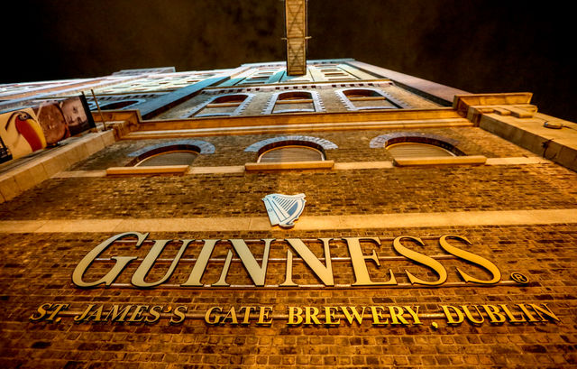 Guinness Storehouse Tour  - Located at the heart of St. James's Gate Brewery, this seven story visitor experience is dedicated to the history and making of the world famous