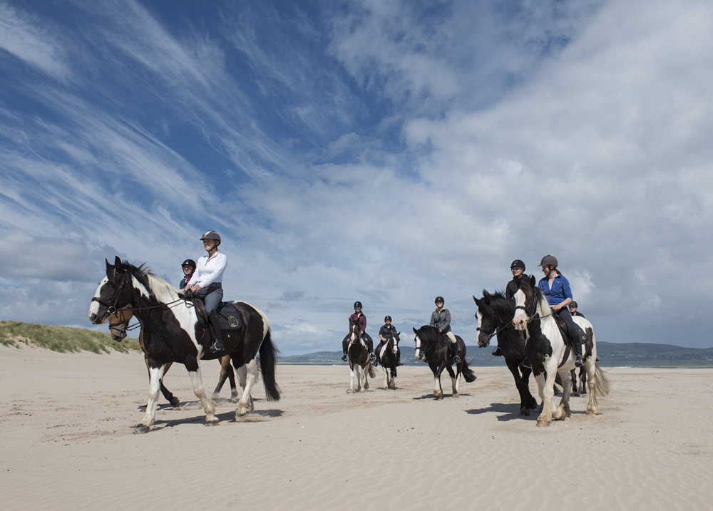 north coast experience - - A Two Day Riding Holiday -