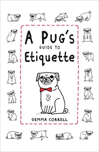 Funny Cartoon Pug Book For Kids