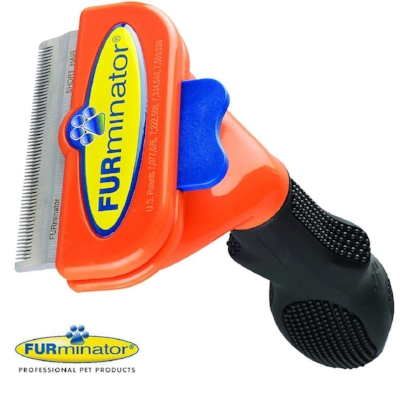 The Furminator! Helps with the Shedding Pug